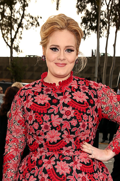 Adele - The 55th Annual GRAMMY Awards - Red Carpet