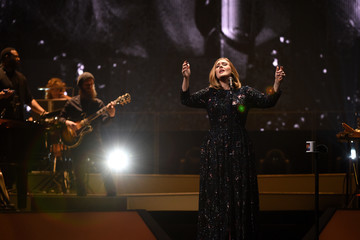 Adele Adele Performs at the Manchester Arena