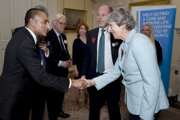 Adil Ray Theresa May Hosts Reception to Honour 200th Anniversary of Parkinson's Essay