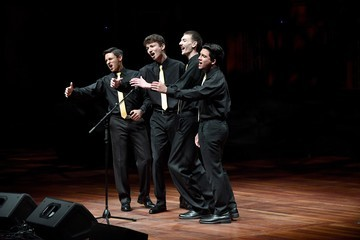 Adrian Lopez 6000 Barbershop Singers Making Music In Nashville: Youth Quartet Contest Opens The Week
