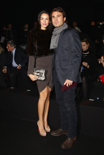 Adrian Mutu with cool, beautiful, Wife Consuelo Matos Gómez