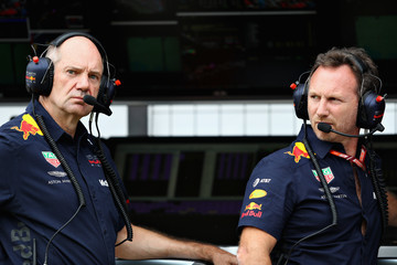 Adrian Newey F1 Grand Prix Of France - Qualifying