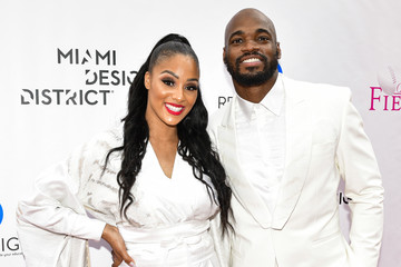 Adrian Peterson 2020 Off the Field Player's Wives Fashion Show