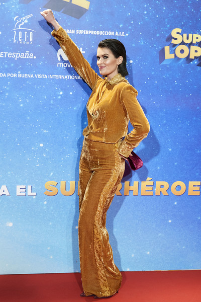 'Superlopez' Madrid Premiere [cinema,red carpet,carpet,performance,flooring,premiere,adriana abenia,superlopez,capitol,madrid,spain,premiere,superlopez madrid premiere]