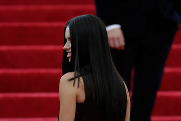 Adriana Lima Red Carpet Arrivals at the Met Gala