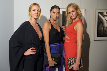"Adriana Lima Erin Heatherton Victoria's Secret Hosts Russell James' ""Angel"" Book Launch"