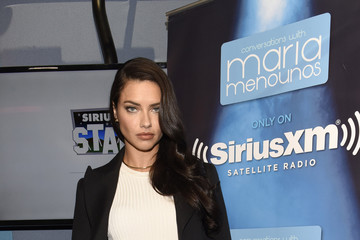 """Adriana Lima Victoria's Secret Angel Adriana Lima Names SiriusXM's Maria Menounos """"The Sexiest Smile"""" Winner From The Victoria's Secret 2016 What Is Sexy? List"""