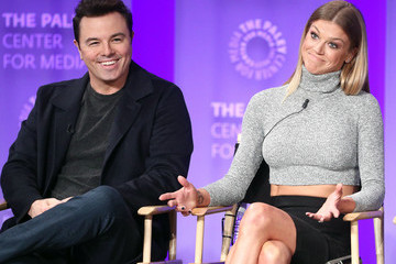 Adrianne Palicki Seth MacFarlane The Paley Center For Media's 35th Annual PaleyFest Los Angeles - 'The Orville' - Inside