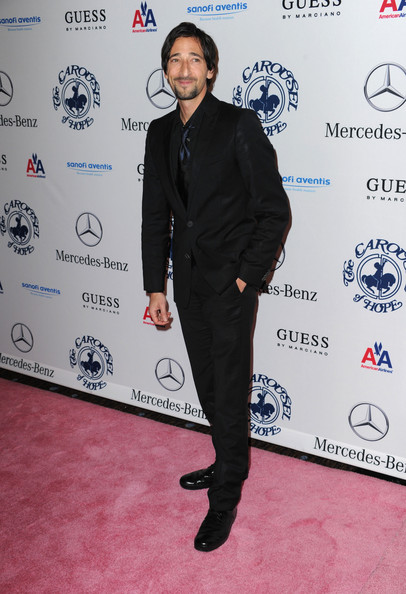 Adrien Brody Actor Adrien Brody arrives at the 32nd Anniversary Carousel Of Hope Gala at the Beverly Hilton Hotel on October 23, 2010 in Beverly Hills, California.