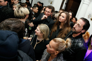 Adrien Brody Lara Leito DIESEL Celebrates Madison Avenue Flagship - After Party