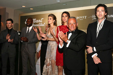 Adrien Brody Moran Atias BOVET 1822 Presents 8th Annual Hollywood Domino Gala Benefiting Artists For Peace And Justice