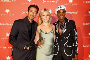 Adrien Brody Montblanc: (Red) Launch Dinner And Party