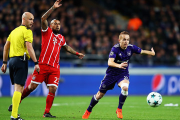Adrien Trebel RSC Anderlecht v Bayern Muenchen - UEFA Champions League