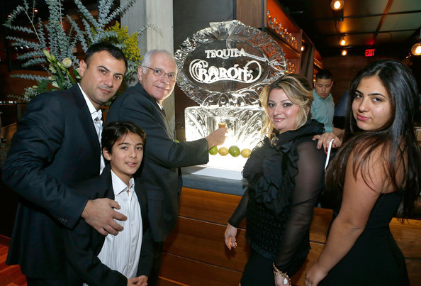 Celebs at the Tequila Baron Launch Party