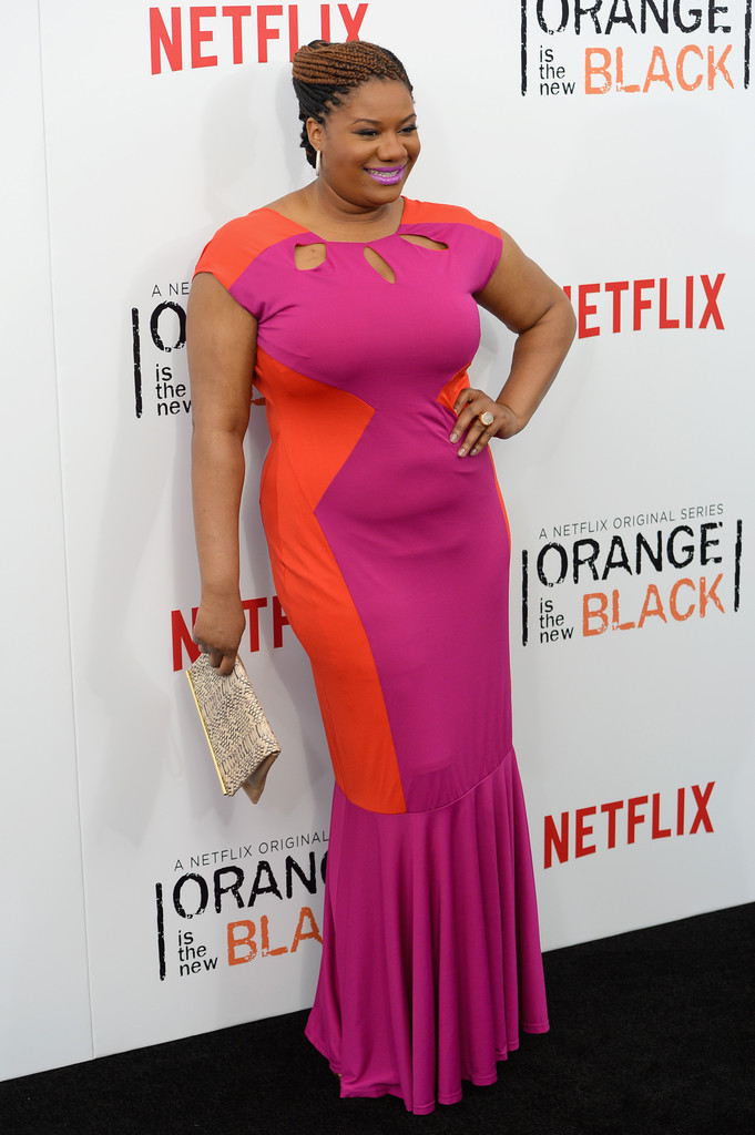 Found: Adrienne C. Moore's Colorblock Frock