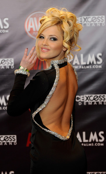 Adult film actress Alexis Texas arrives at the 27th annual Adult Video News ...