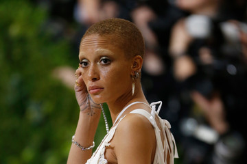 Adwoa Aboah 'Rei Kawakubo/Comme des Garcons: Art of the In-Between' Costume Institute Gala - Outside Arrivals