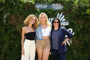 (L-R) Cleo Wade, Iskra and Jessica Weiner attend Aerie REALTreat in Collaboration with Create & Cultivate on June 08, 2019 in Los Angeles, California.