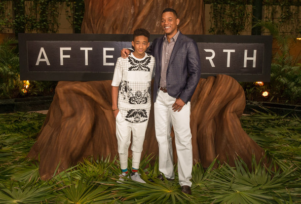 "Actors Jaden Smith (L) and Will Smith attend the ""After Earth"" photo call at The 5th Annual Summer Of Sony at the Ritz Carlton Hotel on April 23, 2013 in Cancun, Mexico."