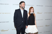 """Bart Freundlich and Julianne Moore attend """"After The Wedding"""" New York Screeningat Regal Essex on August 06, 2019 in New York City."""
