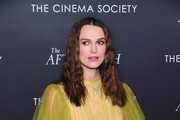 "Keira Knightley attends a screening for ""The Aftermath"" in New York City at the Whitby Hotel on March 13, 2019 in New York City."