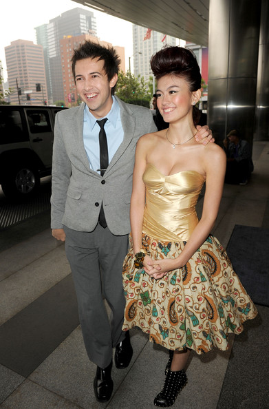 Photo of Agnes Monica & her friend  David lehre