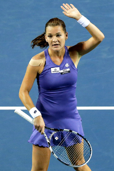 Agnieszka Radwanska - Toray Pan Pacific Open - Day 5
