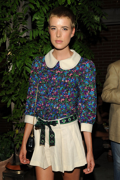 "Agyness Deyn - Cinema Society Screening Of ""The Sorcerer's Apprentice"" - After Party"