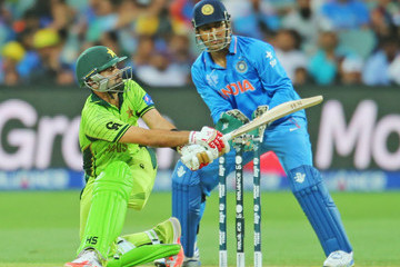 Ahmed Shehzad India v Pakistan - 2015 ICC Cricket World Cup