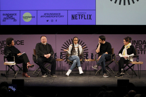 2020 Sundance Film Festival - Power Of Story: Just Art Panel
