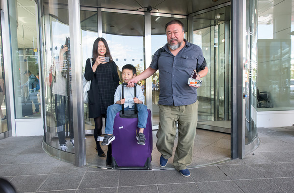 Ai Weiwei Travels to Germany