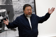 Ai Weiwei attends his landmark art exhibition on September 15, 2015 in London, England. The Royal Academy of Art is showing the work of one of China's leading contemporary artists until mid-December. Ai Weiwei's activism in China saw him detained without charge in 2011 for 81 days.