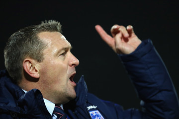 Aidy Boothroyd France v England - U21 International Friendly