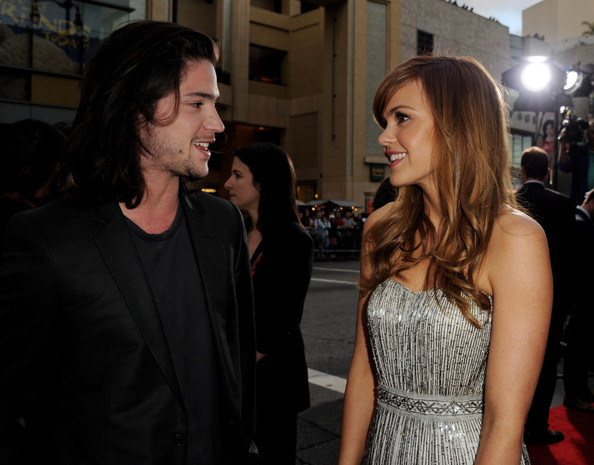 Aimee Teegarden and thomas mcdonell