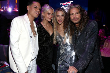 Aimee Preston Steven Tyler And Live Nation Presents Inaugural Janie's FundGala & GRAMMY Viewing Party