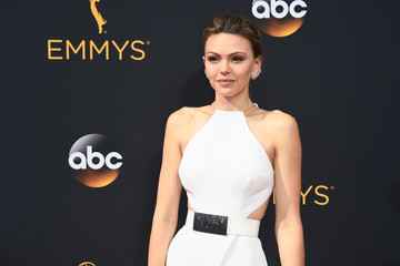 Aimee Teegarden 68th Annual Primetime Emmy Awards - Arrivals
