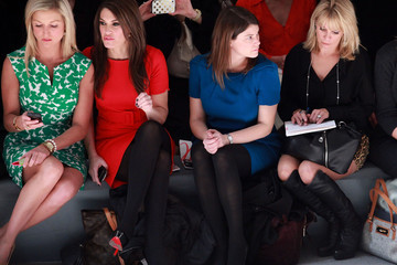 Ainsley Earhardt  Milly By Michelle Smith - Front Row - Fall 2012 Mercedes-Benz Fashion Week