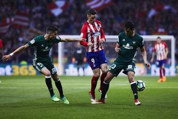 Aissa Mandi Atletico Madrid vs. Real Betis - La Liga