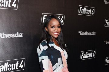 Aja Naomi King 'Fallout 4' Video Game Launch Event - Los Angeles, CA