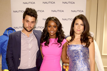 Aja Naomi King Jack Falahee HBO Luxury Lounge Featuring PANDORA Jewelry - Press Day