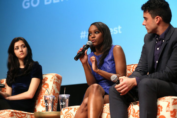 "Aja Naomi King Jack Falahee SCAD Presents aTVfest - Awards Presentation & ABC's ""How To Get Away With Murder"""