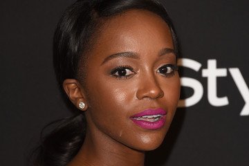 Aja Naomi King InStyle And Warner Bros. Golden Globes Party — Part 2