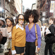 Ajani Russell Tory Burch Spring/Summer 2022 Collection & Mercer Street Block Party - Front Row