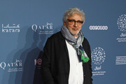 Director Elia Suleiman attends the 'It must be heaven' screening on the opening night of the annual Ajyal Youth Film Festival presented by the Doha Film Institute on November 18, 2019 in Doha, Qatar.