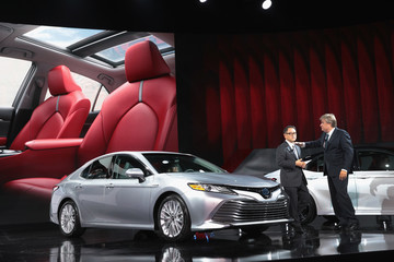Akio Toyoda North American International Auto Show Features Latest Car Models