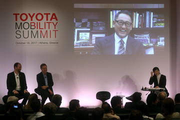 Akio Toyoda Toyota Olympics and Paralympics Campaign: Toyota Mobility Summit
