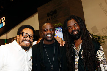 Akon CES 2016 at the House of Marley