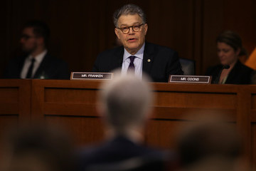 Al Franken Senate Holds Confirmation Hearing For Supreme Court Nominee Neil Gorsuch