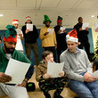 Al Horford Boston Celtics Spread Holiday Cheer By Caroling And Crafting With Patients At Boston Children's Hospital