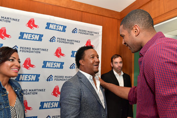 Al Horford Pedro Martinez Charity Feast With 45